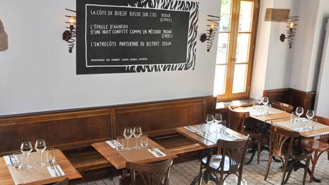 Tables dressées - Café du Marché Carouge, Carouge