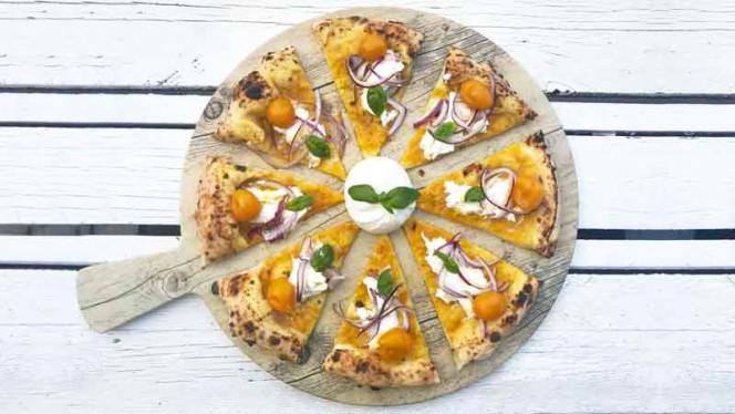 Oro del Sud - Pizza da degustazione - PummaRe, Rome