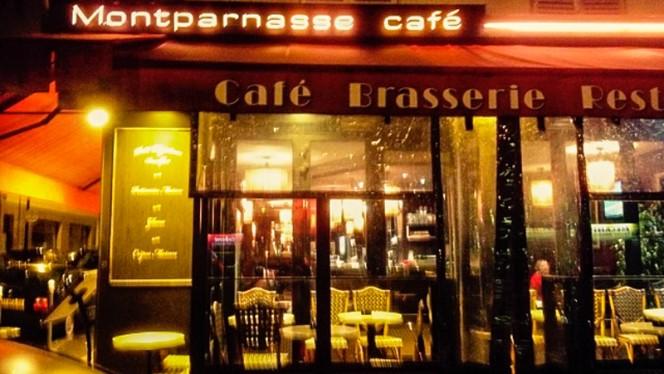 devanture - Montparnasse Café, Paris