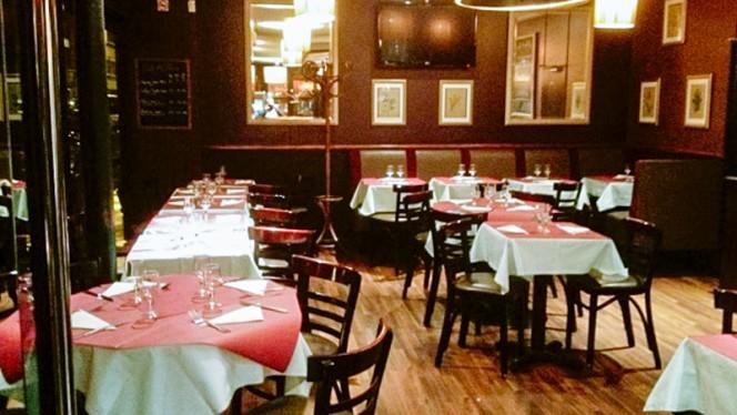 salle - Montparnasse Café, Paris