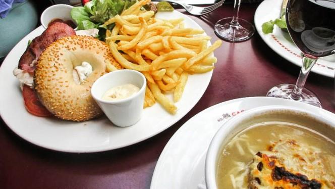 suggestion du chef - Montparnasse Café, Paris