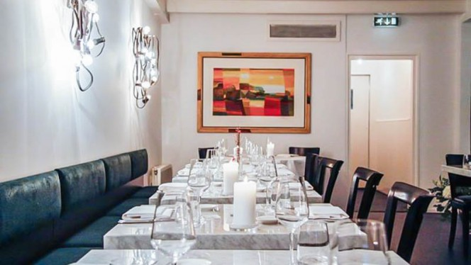 Restaurantzaal - Tanta Roba, Den Haag