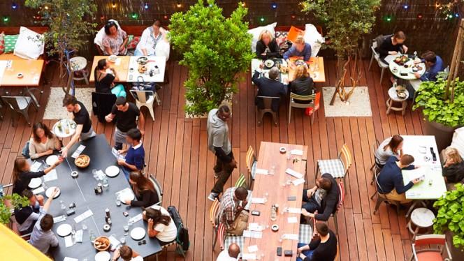terrasse - Mama Restaurant Lyon, Lyon