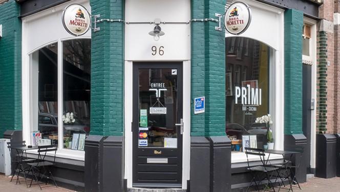 Voorkant - Primi Cucina & Bar Westerpark, Amsterdam