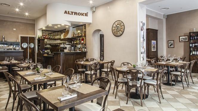 Vista della sala - Altroké, Milano