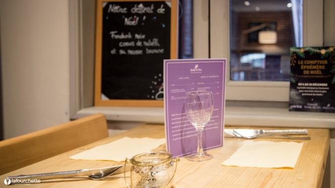 Table dressée - BiBoViNo, Lille