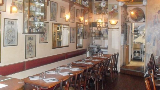 vue salle - Le Café de la Mairie, Lyon