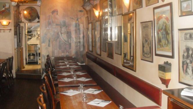 vue table - Le Café de la Mairie, Lyon