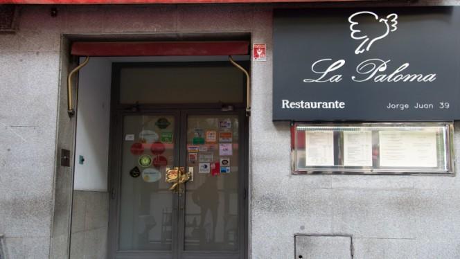 Fachada - La Paloma, Madrid