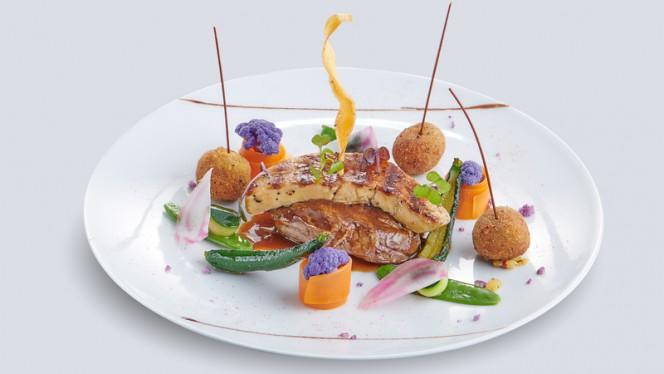 Filet de bœuf Rossini - Restaurant Le Léman, Vevey