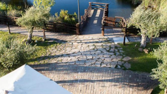 la terrazza sul lago - Lago del Parco, Rome