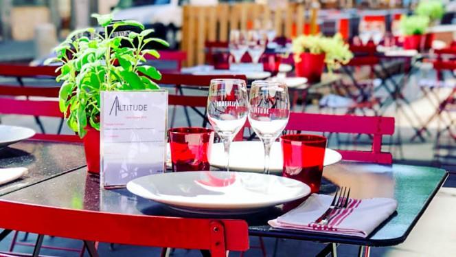 Détail de la table - Altitude, Lyon