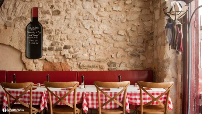 Vue de la salle - Le Bistrot, Aix-en-Provence