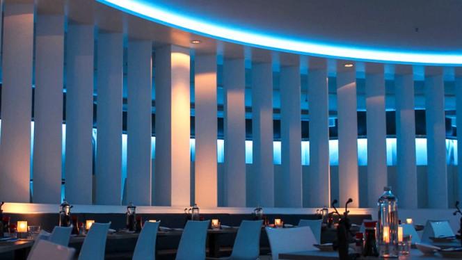 Blue shutters - Shiki Sushi & Lounge, Rotterdam