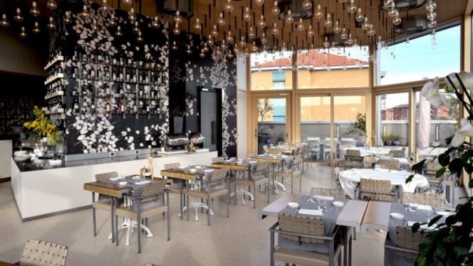 Sala del ristorante - Nu Italian Restaurant- 6° piano, Milan