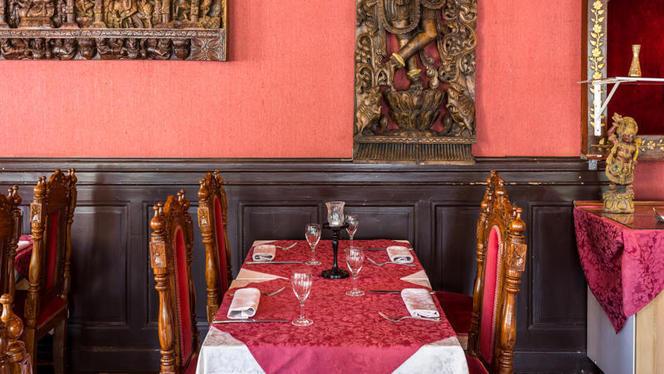 Table dressée - Jaipur, Genève