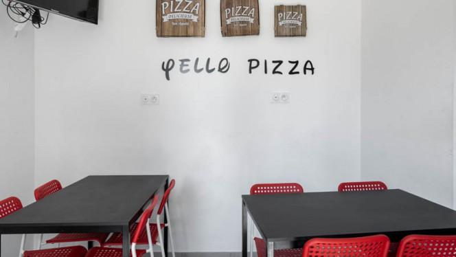 Vue de la salle - Yello Pizza, Nantes