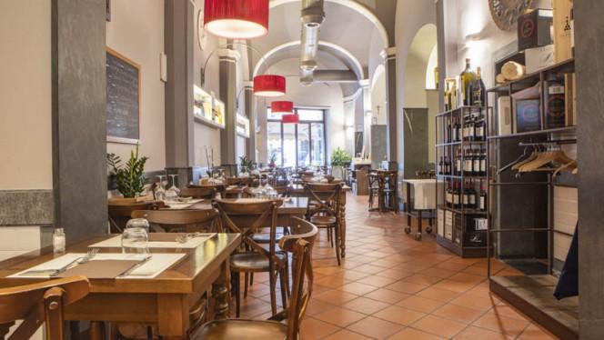 Vista sala - Alla Griglia, Firenze