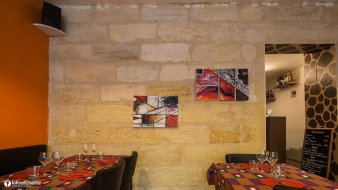 vue de la salle - La Djaf, Bordeaux