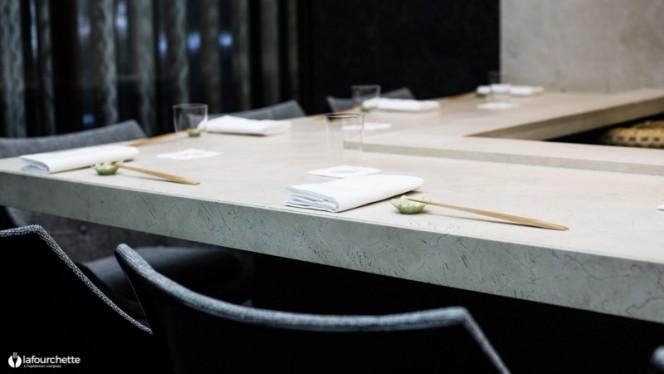 Table dressée - Sushi-B Paris, Paris