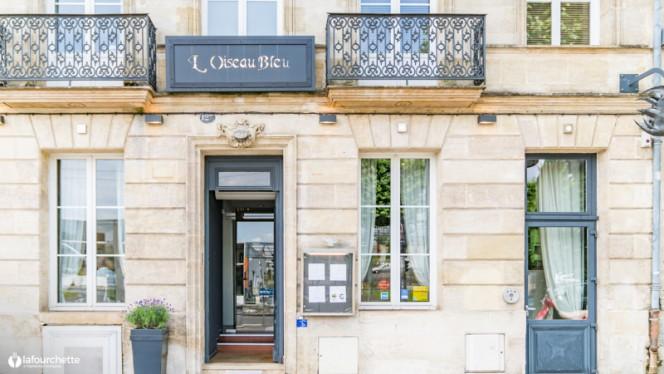 Entrée - L'Oiseau Bleu - Frédéric Lafon, Bordeaux