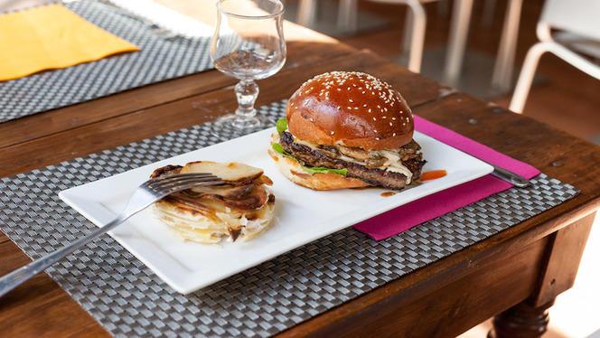 Burger et gratin dauphinois - Les Gratinés, Lyon