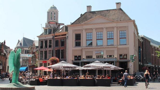 Ingang - Stadscafé Blij, Zwolle