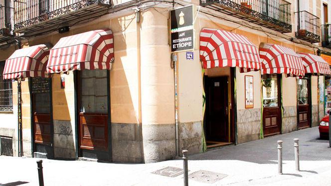 fachada - Habesha, Madrid