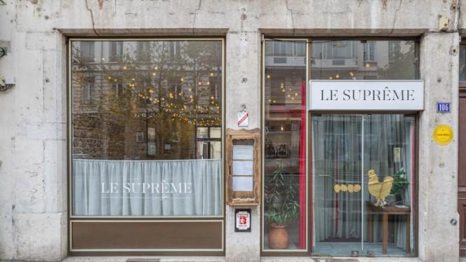 Entrée - Le Suprême, Lyon