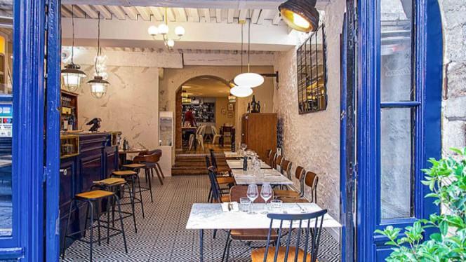 Vue de l'intérieur - Les Flaconneurs Bistro, Lyon