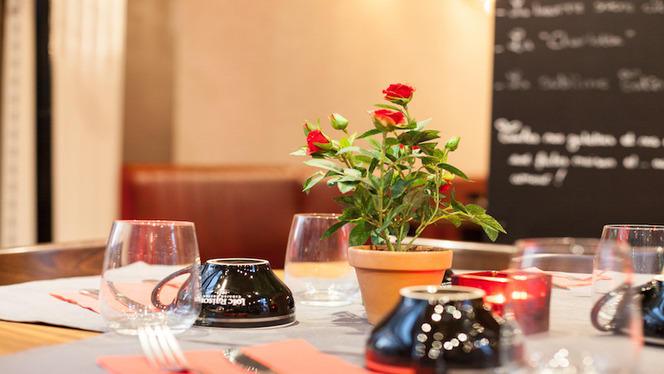 Vue table dressée - Le Marélie, Lyon