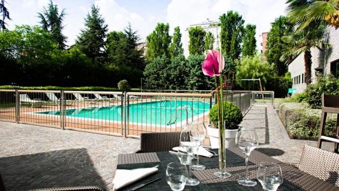 Esterno con piscina - Centena Trattoria Urbana, Milan