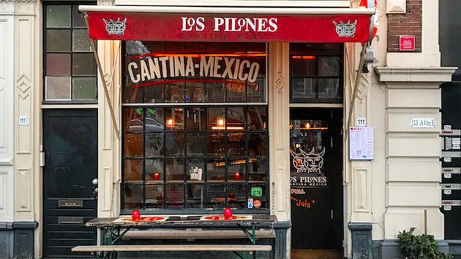 Ingang - Los Pilones (Nieuwmarkt), Amsterdam