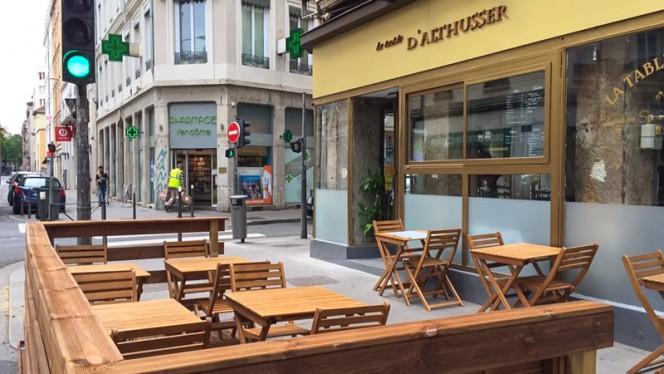 Devanture - La Table d'Althusser, Lyon