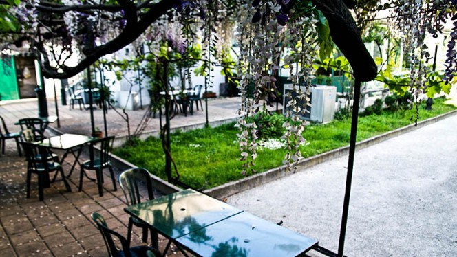 Il giardino - Grand Hotel Osteria, Milan