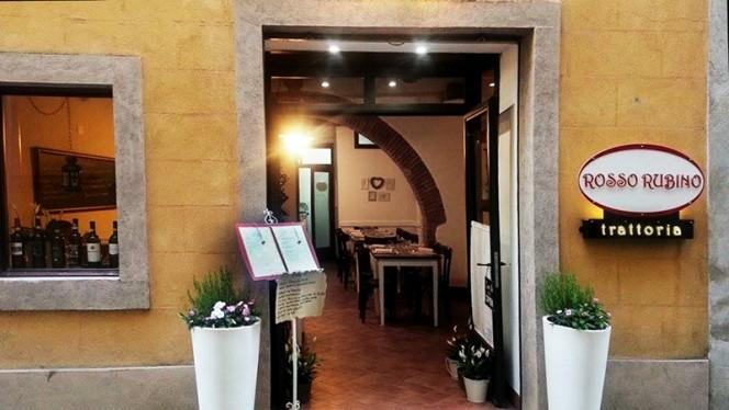 La entrata - Rosso rubino, Montepulciano