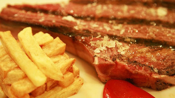 Plato carne - Kupela, Madrid