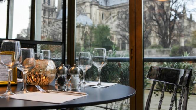 Vue sur Notre Dame soir - La Nouvelle Seine, Paris