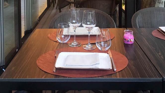 Terraza - Longan Asian Gastro, Madrid