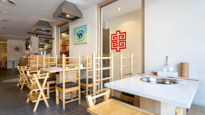 Het restaurant - Yuan's Hot Pot 袁记串串香, Amsterdam