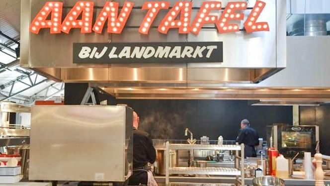 Het restaurant - Aan Tafel - bij Landmarkt, Amsterdam