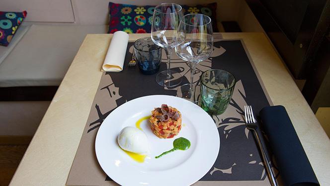 Panzanella di pane al farro,pomodoro ed alici - Laltroballerino, Rome