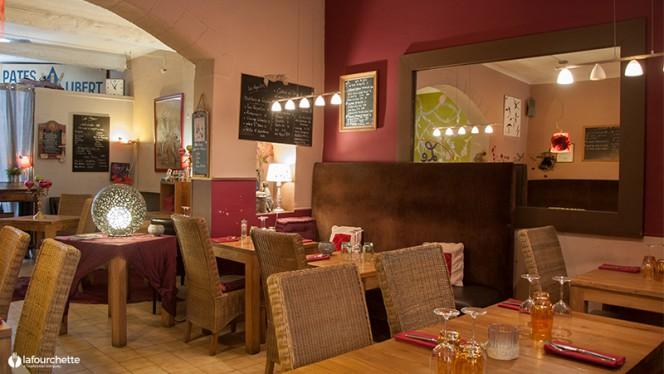La salle du restaurant - Le Patio, Aix-en-Provence