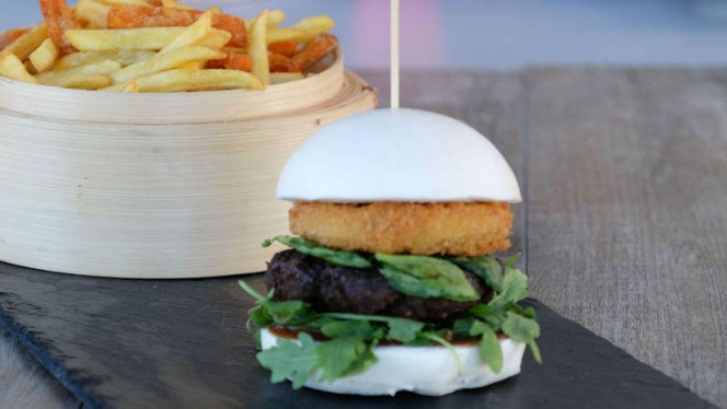 Bao_Beef_Burger - Kō-San, Bordeaux