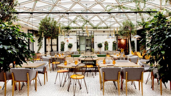 Vista del interior - RIB Beef & Wine - Casa de la carnicería, Madrid