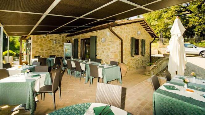 veranda - La Casina, Montepulciano