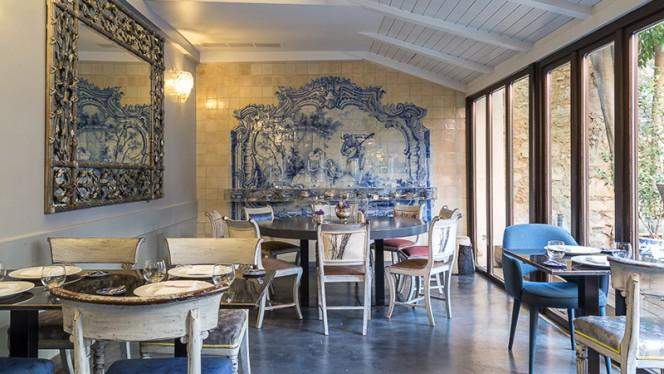 Vista da sala - Casa da Comida, Lisboa