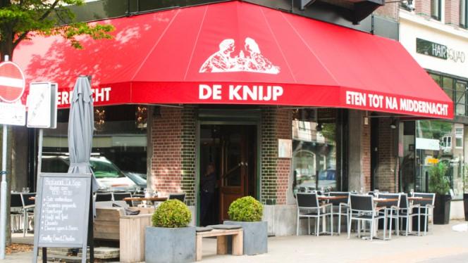 Ingang - De Knijp, Amsterdam