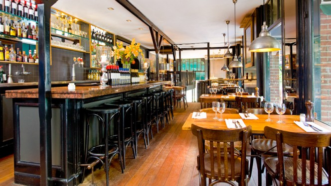 restaurantzaal - De Knijp, Amsterdam