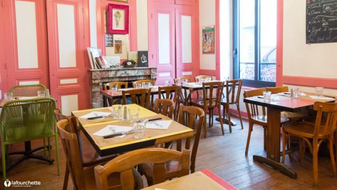Salle du restaurant - La Gamelle de Montchat, Lyon